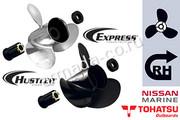 Алюминиевые и стальные винты Tohatsu / Nissan 40-70 л.с.