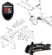 Запчасти для троллинговых электромоторов Моторгайд xi5