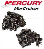 Двигатели и повортно-откидные колонки MerCruiser