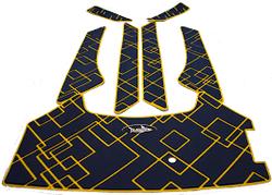 Спидометр YAMAHA аналоговый 0-75 кмч, белый