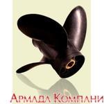 Винт Piranha 4-х лопастной для моторов Johnson до Evinrude (диаметр 14, шаги от 16 до 24)