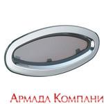 Иллюминатор Lewmar, неоткрывающийся, нерж.сталь (тип 8)