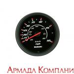 Спидометр Suzuki 0-50 миль/час, черный, серия Deluxe