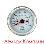 Спидометр Suzuki 0-50 миль/час, белый серия Deluxe