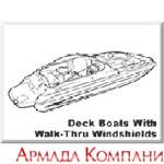 Тенты для катеров типа Dual Console Bass Boats