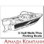 Тенты для катеров типа V-Hull Fishing Boat