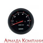 Тахометр Suzuki многофункциональный черный, серия Deluxe