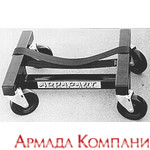 Кильблок с колесами под катер (Heavy Duty Boat Stand)