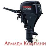 Лодочный мотор Nissan Marine NSF 9,8 A3 EP2
