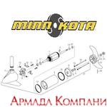 Каталог запчастей для электромотора Minn Kota Endura C2-55