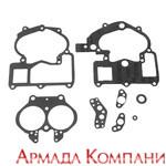 Комплект прокладок двухкамерного карбюратора MerCruiser 3.0L, 4.3L, 5.0L, 5.7L