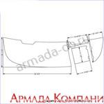 Нескользящее палубное покрытие для катера Chaparral 200 SSI & 204 SSI