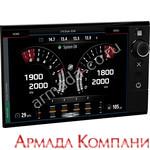 Дисплей VesselView 702 комплект для одного двигателя