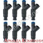 Комплект топливных форсунок для моторов Volvo Penta V6-V8 (4.3-5.0- 5.7-6.2L)