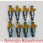 Набор топливных форсунок для моторов Volvo Penta 1994-96 5.0-5.8L (8 шт.)