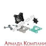 Полный ремкомплект помпы для мотора Honda BF15-20D (с корпусом)