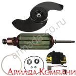 Ремкомплект ротора (якоря) для электромоторов Minn Kota 70 (24 Вольт)