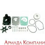 Полный ремкомплект помпы охлаждения (с корпусом помпы) лодочных моторов Honda BF8, BF9.9 (S,L)