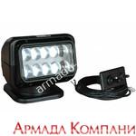 Фараискатель Golight LED с кабельным пультом управления (светодиодный, черный)