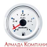 Указатель уровня топлива цифровой, Suzuki белый