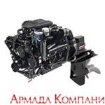 Двигатель Merсruiser 5.0L MPI (с колонкой Альфа, Браво 1, Браво 2, Браво 3), бензиновый