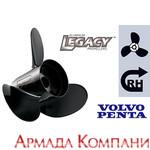 Винт гребной Hustler для Yamaha 150-250 л.с. - диаметр 14 1/4 х шаг 23 (алюм.)