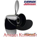 Винт для Johnson/Evinrude алюминиевый Hustler (диаметр 10 1/8 х шаг 13), R1-1013