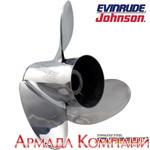 Гребной винт для мотора Johnson/Evinrude стальной Express (диаметр 11 3/4 х шаг 15), E2-1115