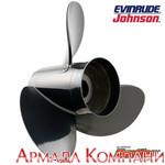 Винт для мотора Johnson/Evinrude алюминиевый Hustler (диаметр 12 х шаг 10 1/2), H2-1210