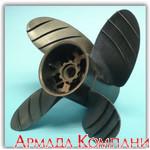 Винт Piranha 4-х лопастной для судовых моторов Volvo SX (диаметр 14, шаги от 16 до 24)