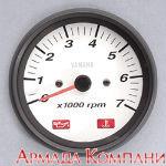 Тахометр YAMAHA аналоговый, белый