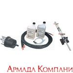 Гидравлическая система рулевого управления SeaStar (для стационарных моторов с поворотно-угловыми колнками)