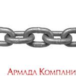Якорная цепь 10мм, (30м), оцинкованная