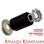 Втулка сменная для винтов Yamaha 150-250 л.с. (#505) - 15 шлицев