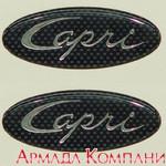 Стикер для подголовника кресла Bayliner, модель Capri (пара)