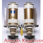 Сдвоенный фильтр сепаратор с переключателем потока топлива