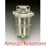 Топливный фильтр влагоотделитель для дизельных двигателей мощностью до 50 л.с. без соед. элементов
