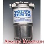 Топливный фильтр влагоотделитель для дизельных двигателей мощностью до 60 л.с. со стальным стаканом