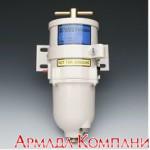 Топливный фильтр влагоотделитель для дизельных двигателей мощностью до 280 л.с. со стальным стаканом