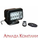 Фараискатель Golight LED с 2-мя пультами дист.управления (светодиодный, черный)