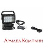 """Фараискатель Golight LED с кабельным пультом управления от """"прикуривателя"""" (светодиодный, черный)"""