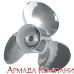 Гребной винт для мотора Honda BF75-130 л.с.(13-3/4x15), сталь, 3 лопасти