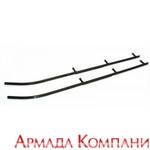 Коньки для лыж снегоходов Polaris (2шт) Carbide 90 градусов. Длина 442 мм