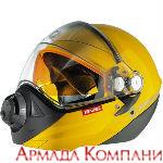 Шлем BV2s Ski Doo для снегохода, желтый