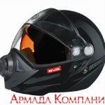 Шлем BV2s Ski Doo для снегохода, черный