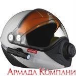 Шлем BV2s Ski Doo для снегохода, серый