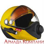 Шлем Ski Doo для снегохода BV2, желтый