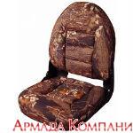 Сиденье с высокой спинкой NaviStyle Camo - Mossy Oak (листва)