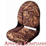 Сиденье с высокой спинкой NaviStyle Camo - Mossy Oak (камыш)