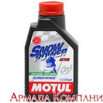 Моторное масло MOTUL SnowPower 2T FL Technosynt, 4 литра